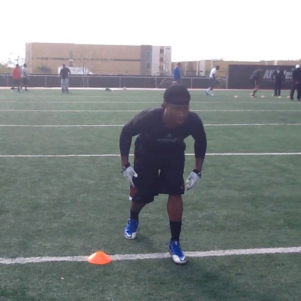 NY Giant Defensive Back Janoris Jenkins Training with LBS